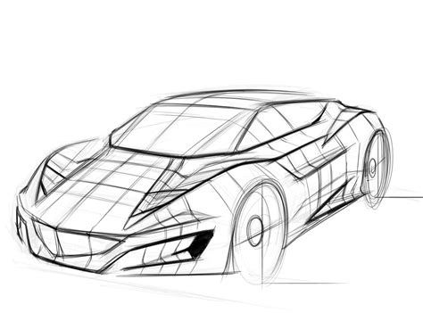 Sketches Of Cars by Concept Assignment 1 Concept Article