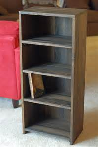 Free Woodworking Plans Bookshelf by A Homemade Bookcase Happy Living