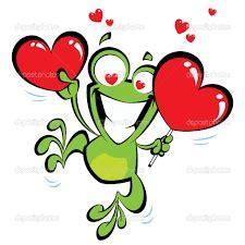 imagenes de ranas animadas de amor ranas con corazones amor