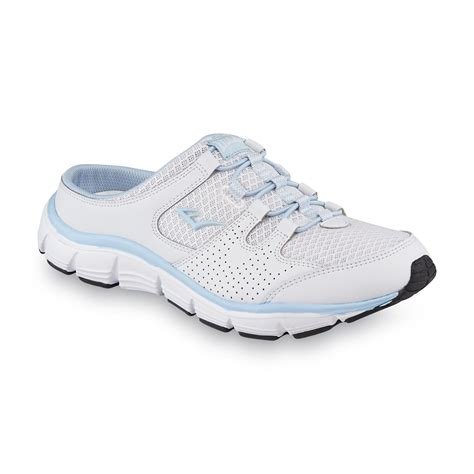 open back tennis shoes peppy s peppy white blue open back sneaker