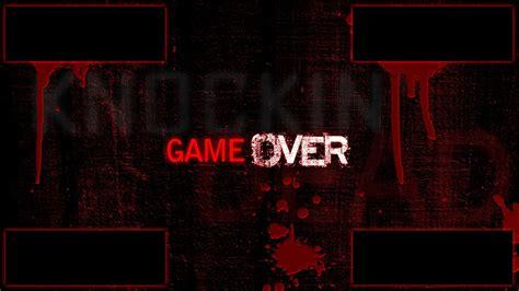 wallpaper game over game over walldevil
