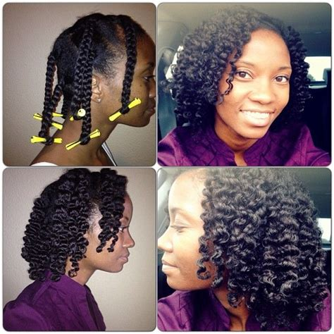 natural hair how to twist out with perm rods my braidout on freshly cowashed hair let my hair air dry