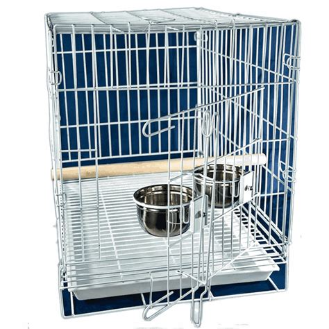 parrot travel carry cage large garden feathers bird