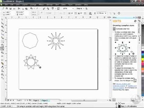 corel draw x4 has stopped working corel draw x4 tutorial creating shapes youtube