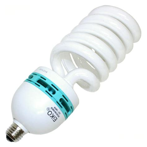 Twist Light Bulb by Eiko 81180 Sp105 50 Med Twist Medium Base Compact