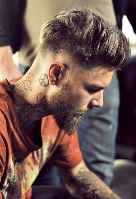 Neck Tattoo Washing Hair | 17 best images about neck tattoos for men on pinterest
