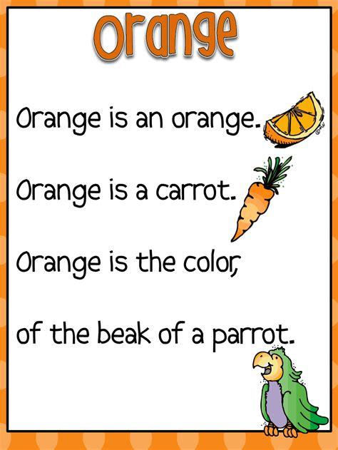 color songs for preschool color word poems pdf kinder preschool colors