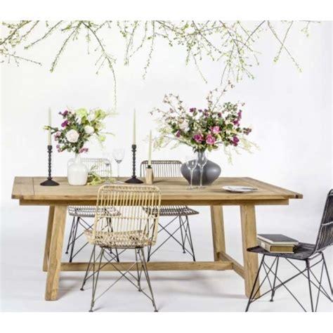 sedie in rattan sedia in rattan e metallo naturale