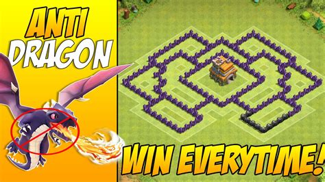 clash of clans mod apk with boat update anti dragons th7 town hall 7 war base layout with 3 air