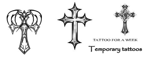 black cross tattoo meaning meaning of cross tattoos temporary