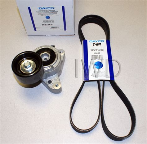 2003 honda accord 4 cylinder timing belt or chain honda accord 2003 2007 all 4cyl 2 4 serpentine belt and tensioner combo new ebay
