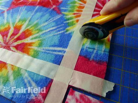 No Sew Fleece Pillow by No Sew Braided Edge Fleece Pillow Fairfield World