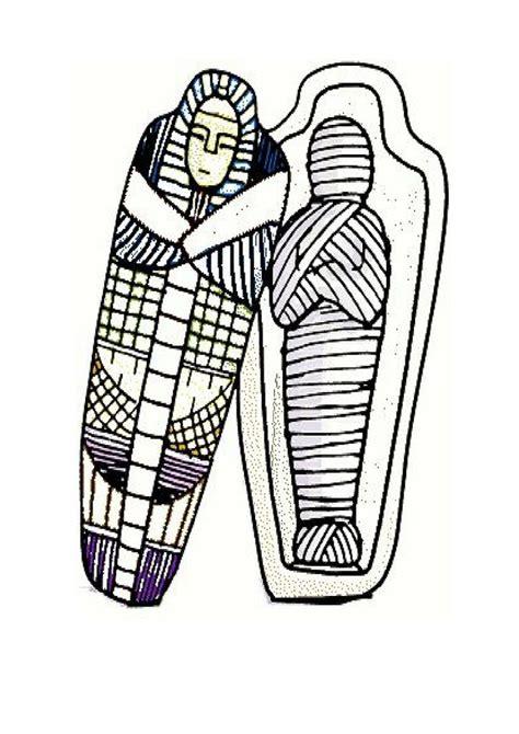 imagenes de figuras egipcias para colorear momias para colorear edat antiga pinterest colorear