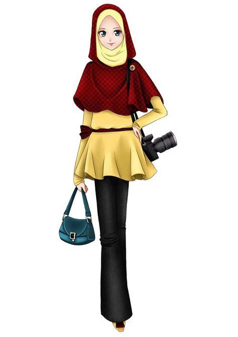 trendy wanita jilbab muslim  muslim