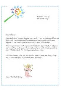 letter from the tooth template tooth letter template levelings