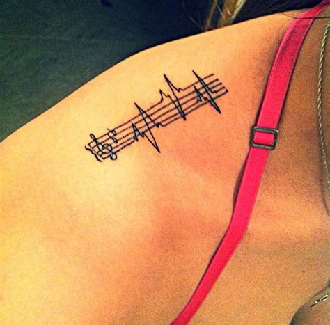 heartbeat tattoo for girl 150 attractive heartbeat tattoos designs and ideas stock