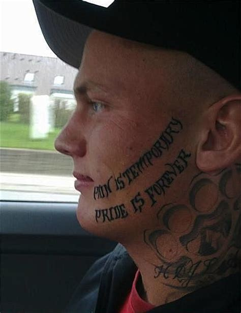 tattoo fail you re dead 50 funny but hideous tattoos we wouldn t be caught dead