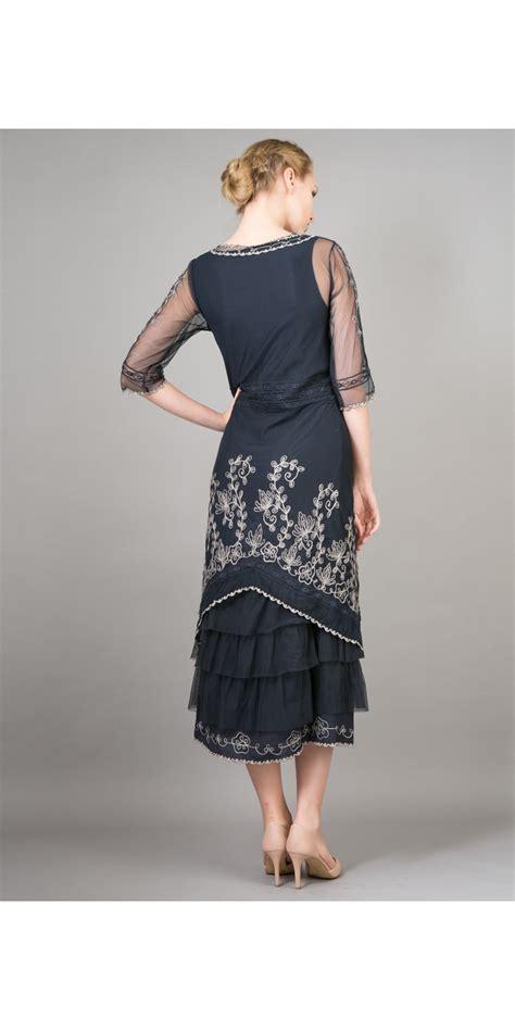 Natahua Dress nataya titanic dress al 2101 in sapphire
