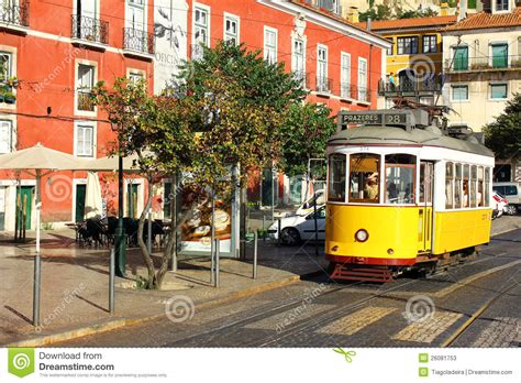 tramway 28 lisbonne portugal photo stock 233 ditorial