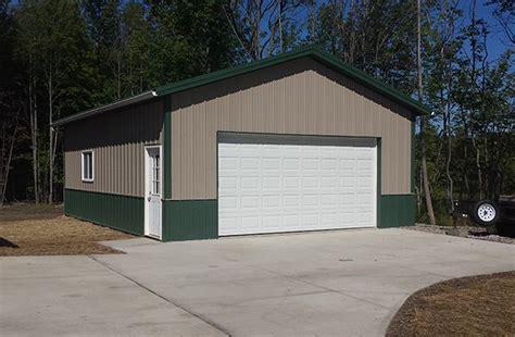 lester buildings metal shop building garage style