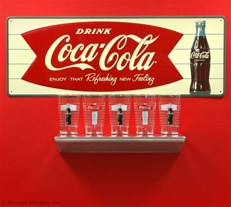 coca cola fishtail logo decor