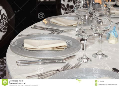 table set up table set up stock photo image of industry diner