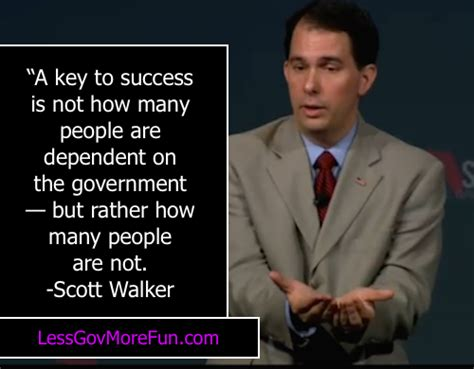 Governors Chair Says The Will Go On by Cognitive Dissidence Great Walker Quotes