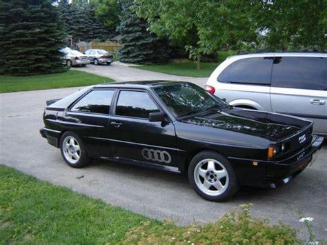 84 audi quattro for sale 72k mile 1984 audi ur quattro turbo coupe bring a trailer