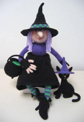 witch knitting pattern witch and cat alan dart alan dart