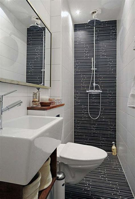17 best ideas about small narrow bathroom on