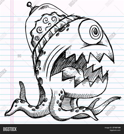 does doodle draw notebook doodle sketch vector photo bigstock
