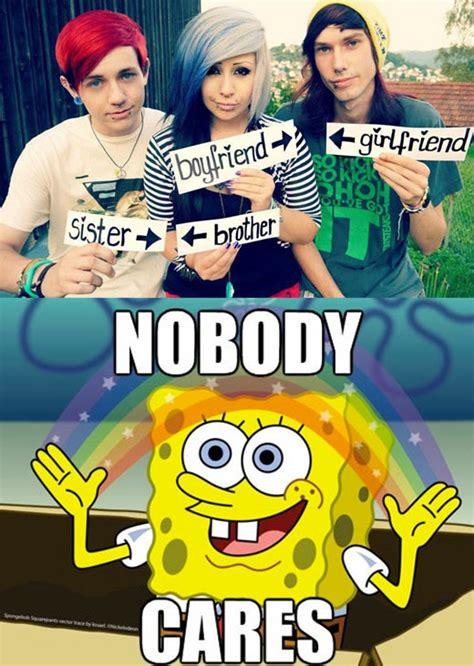 No One Cares Meme Spongebob - thanks for letting me know