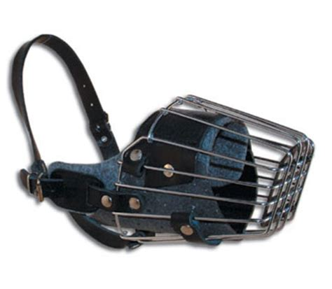basket muzzle leerburg how to select a muzzle for your