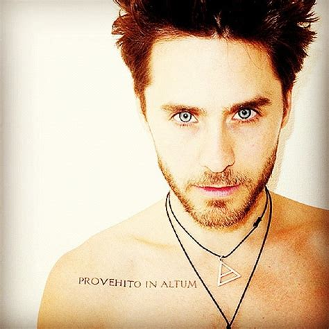 jared leto tattoo provehito in altum my so called w jared leto