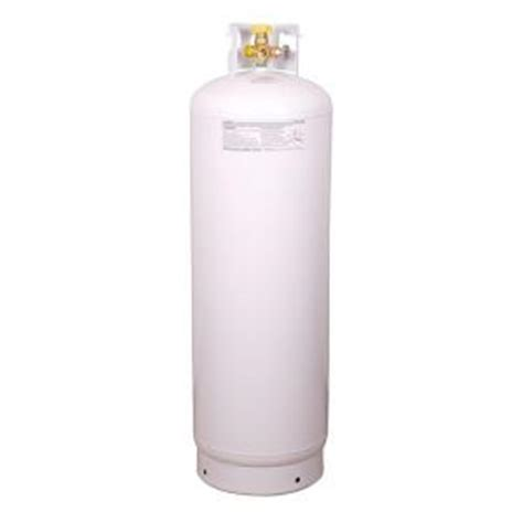 worthington pro grade 100 lb empty steel propane cylinder