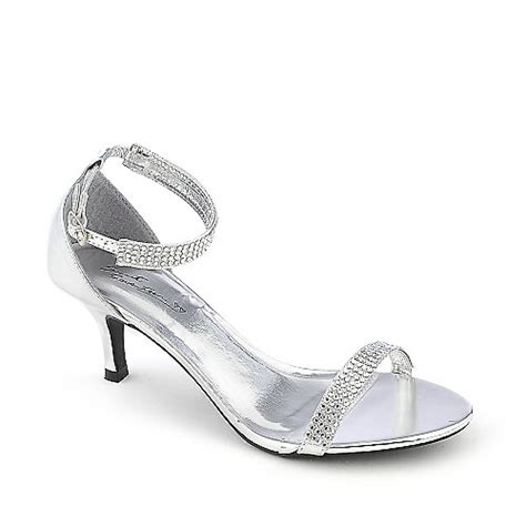 Silver Evening Shoes by Silver Dress Sandals With Low Heel Low Heel Sandals