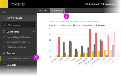 tips and tricks for color formatting in power bi