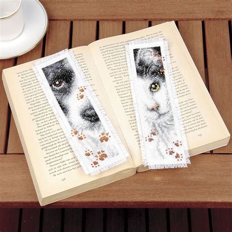 Cross Stitch Kit 80713 and cat bookmarks counted cross stitch kit cross stitch needlepoint embroidery kits