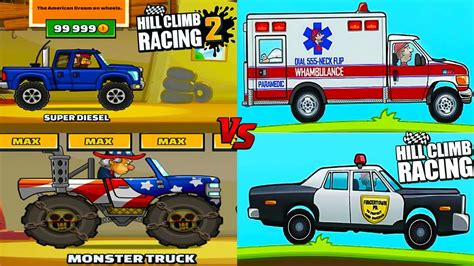 hill climb racing monster truck hill cllimb racing 1 vs hill climb racing 2 monster