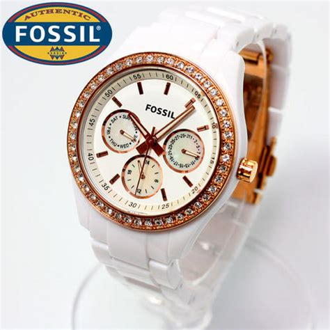 Fossil No Kw Branded Usa 1 s watches awesome fossil stella multifunction day date and 12 24 hours glitz