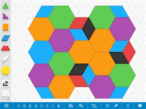 pattern shapes app pattern shapes by the math learning center educator