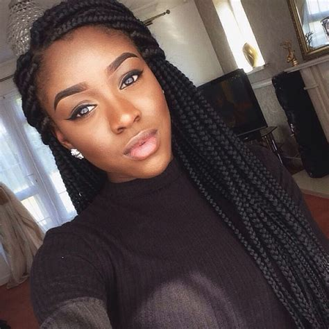heavy box braids 22 best jumbo box braids images on pinterest hair dos