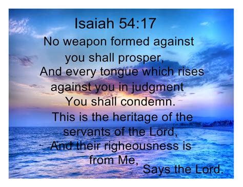 isaiah 54 17 tattoo pinterest