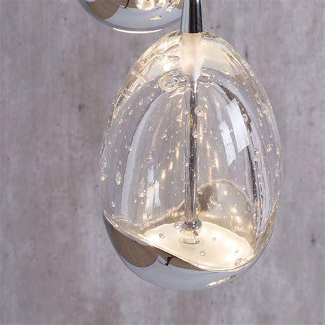 Spiral Pendant Ceiling Light Bulla 5 Light Led Spiral Cluster Ceiling Pendant Light Chrome From Litecraft
