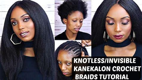 what is the best kanekalon hair for crochet braids crochet braids with kanekalon hair tutorial knotless