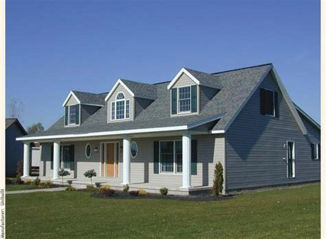 cape cod dormer a cape cod modular home with three gable dormers crowning