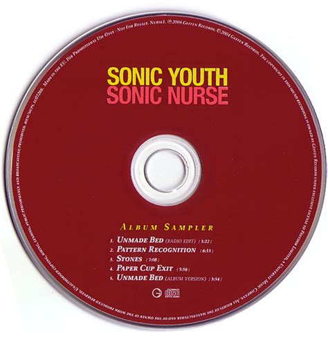 pattern recognition lyrics sonic youth sonicyouth com discography sonic nurse album sampler