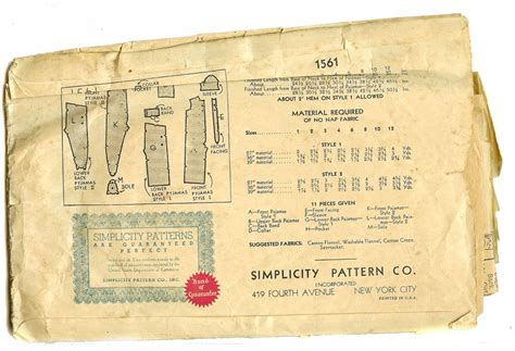 sewing pattern union suit simplicity 1940s sewing pattern pjs union suit one piece