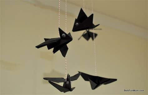 Easy Origami Bat - simple origami bat be a