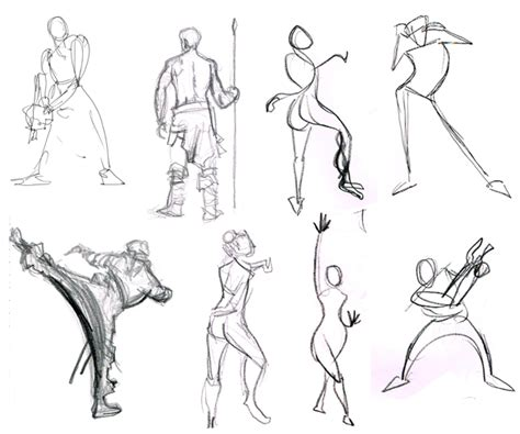 Sketches Def by Defining The Gesture Drawing Animator Island